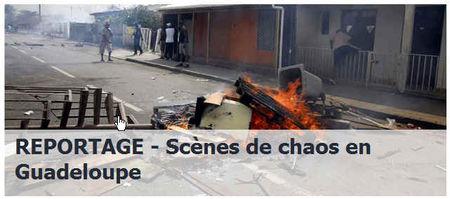 Chaos-guadeloupe
