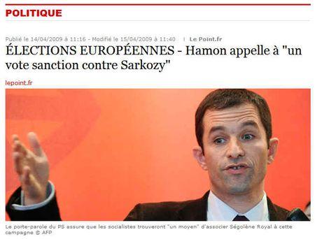 Europe, le PS a un programme solide