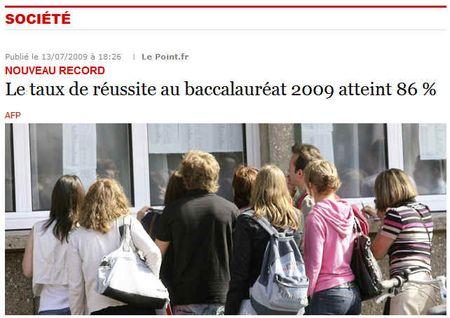 Bac2009-86pourcent