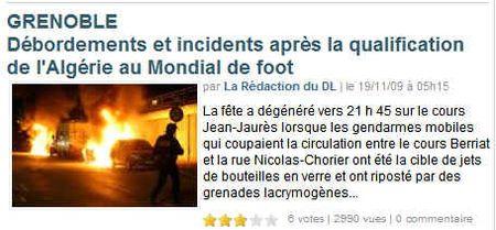 Grenoble-foot-algérie