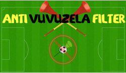 Antivuvuzelafilter
