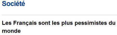 Francais-pessimistes