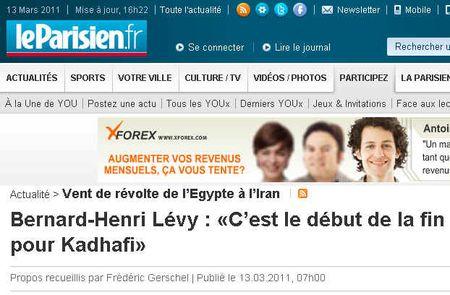 BH Lévy Kadhafi est foutu - 130311jpg