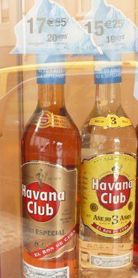 Havana Club en promo chez Nicolas - août 2011