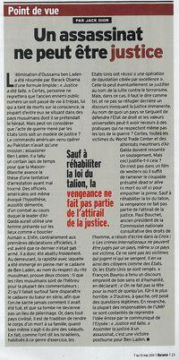 Justice est faite- marianne 7 mai 2011