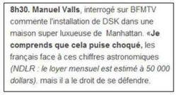 Manuel Vall déclaration dans Le Parisien 27 mai 2011