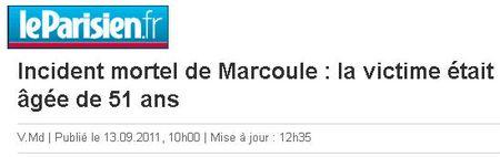 Marcoule victime 51 ans