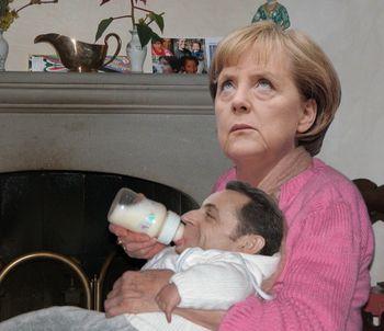 Angela Merkel babysitter