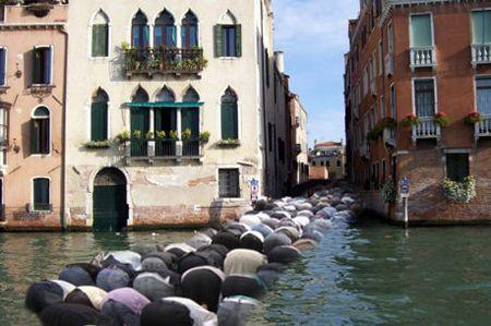 Prière musulmane à Venise
