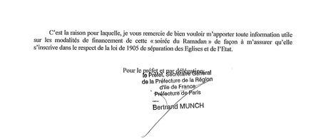 Lettre préfet à maire de Paris - page 2