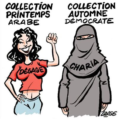Printemps arabe - dégage vs charia