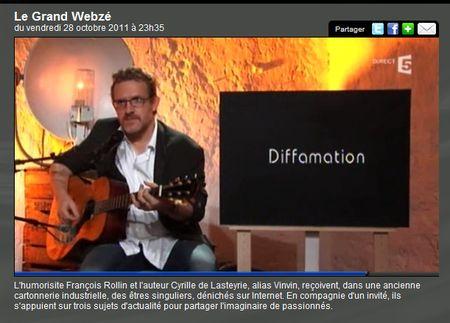 La diffamation - le grand webzé - 1