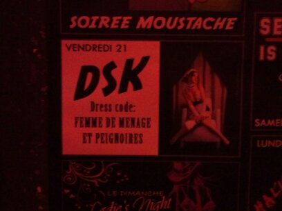 Soirée Moustache DSK