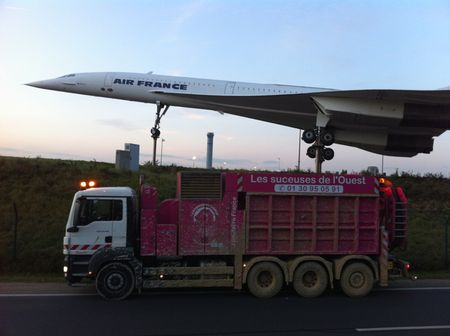 Suceuses de l'ouest avec Concorde