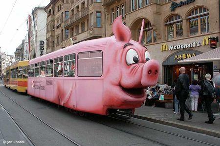Cochonnerie de tramway suisse