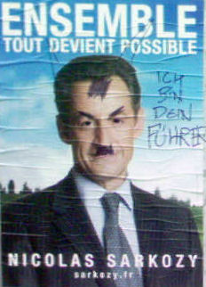 Adolf Sarkozy en avril 2007