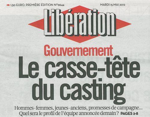 Libération-mardi 15 mai 2012