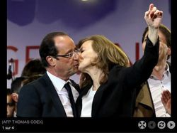 Le baiser de la Bastille 6 mai 2012 - vrai