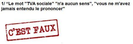 L'expression tva sociale n'a aucun sens - signé Sarkozy