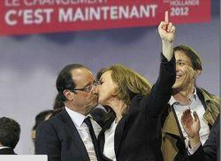 Le baiser de la Bastille 6 mai 2012 -faux