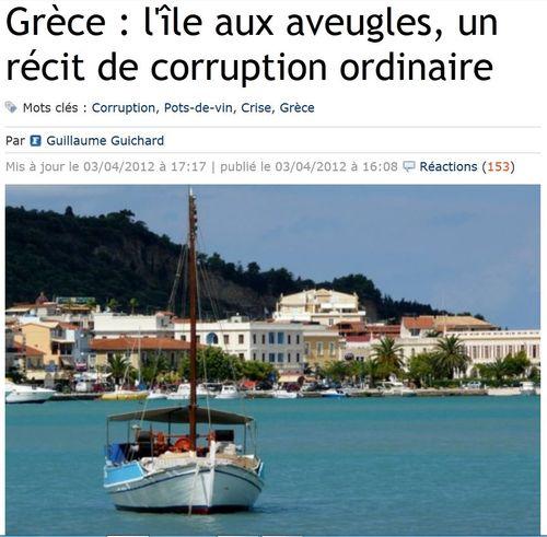 Grèce Ile aux aveugles