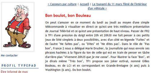 Bon boulot - bon Bouleau - TF1
