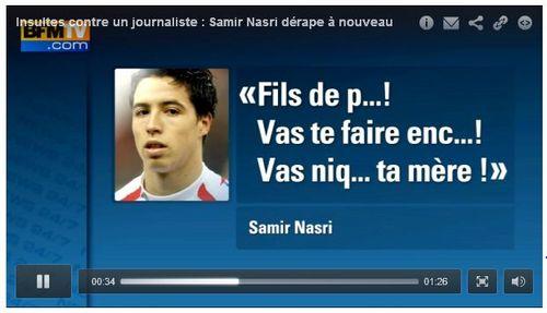 Samir Nasri élégance sportive