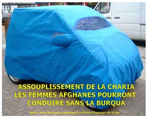 Conduire en terre d'islam sans la burqa
