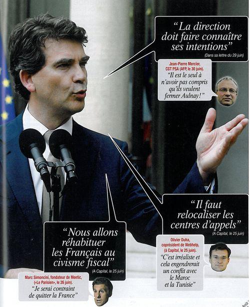 Arnaud Montebourg - Cause toujours - Capital août 2012