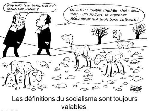 Jacques Faizant- socialisme - 1