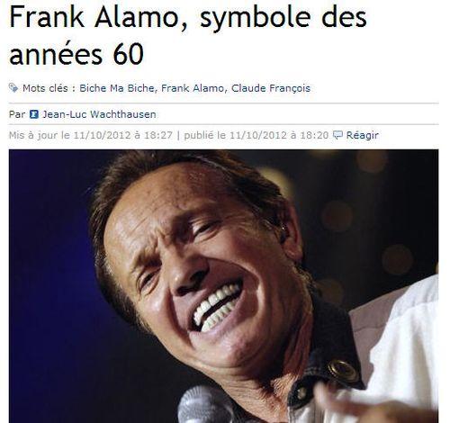 Franck Alamo symbole des années 60 LE FIGARO