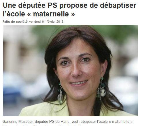 Sandrine Mazetier députée PS