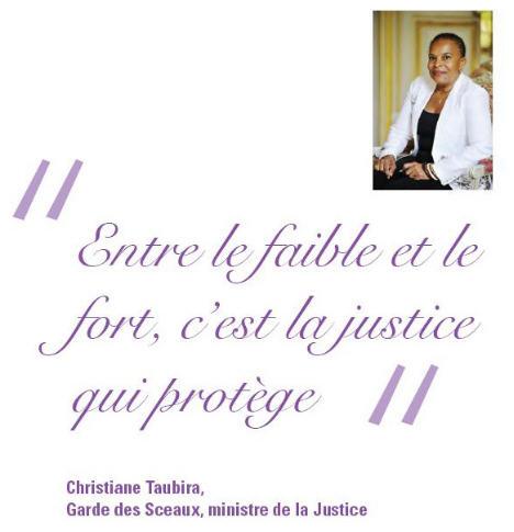 Taubira-brochure voeux 2013