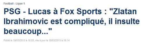 Ibrahimovic est compliqué