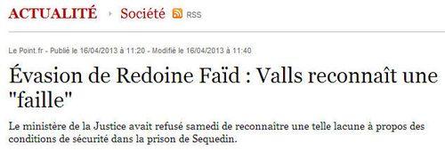 Sequedin-Valls reconnaît une faille