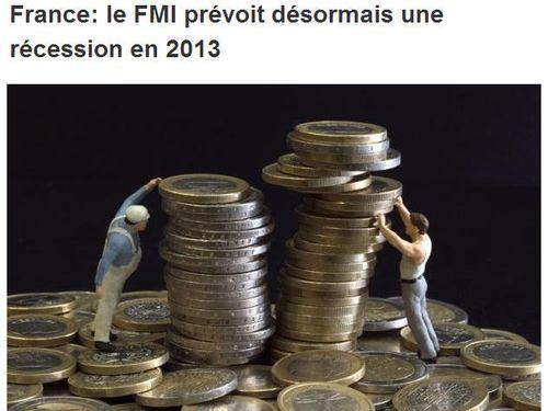 FMI - France récession en 2013