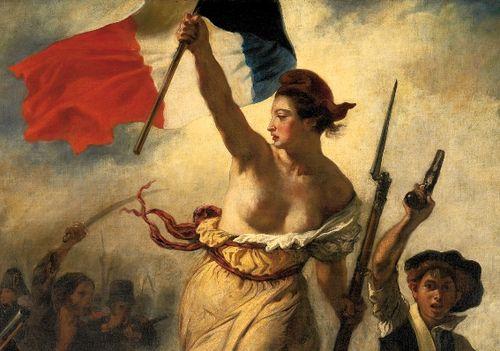 Delacroix - Tableau La Liberté - détail