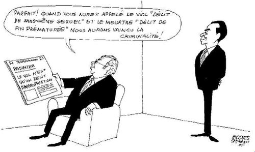 La Justice par Jacques Faizant