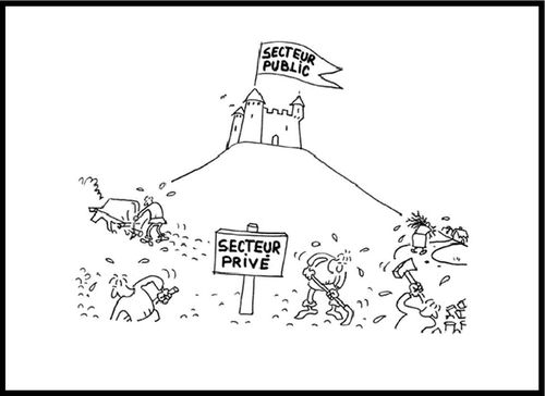 KONK - Secteur public - Secteur privé