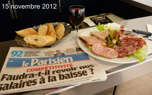 Le beaujolais nouveau 2012 est arrivé