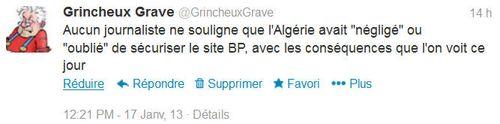 Tweet-protection site gazier Algérie-17.01.2013
