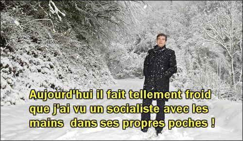 Un socialiste avec les mains dans ses propres poches