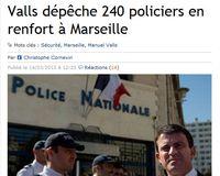 Valls réponse pour Marseille - 14.03.2013