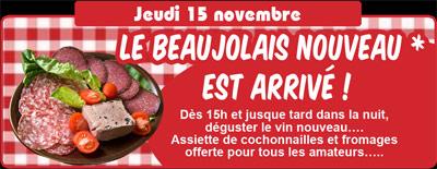 Beaujolais nouveau -cochonnaille