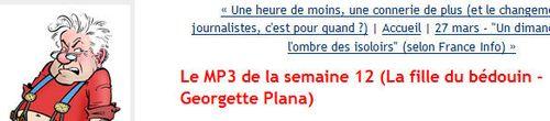 Georgette Plana - billet sur La Fille du Bédouin