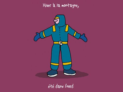17-Hiver à la montagne-Eté dans le nord