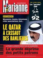 MARIANNE-le Qatar à l'assaut des banlieues-avril2013