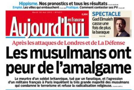Amalgame-Aujourd'hui en France-28.05.2013