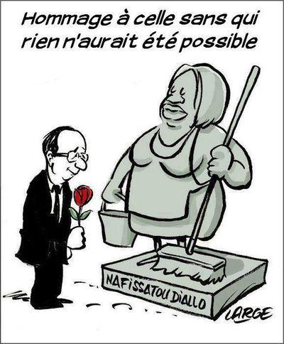 Nafissatou Diallo hommage