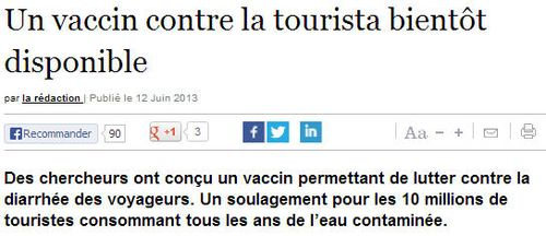 Tourista vaccin
